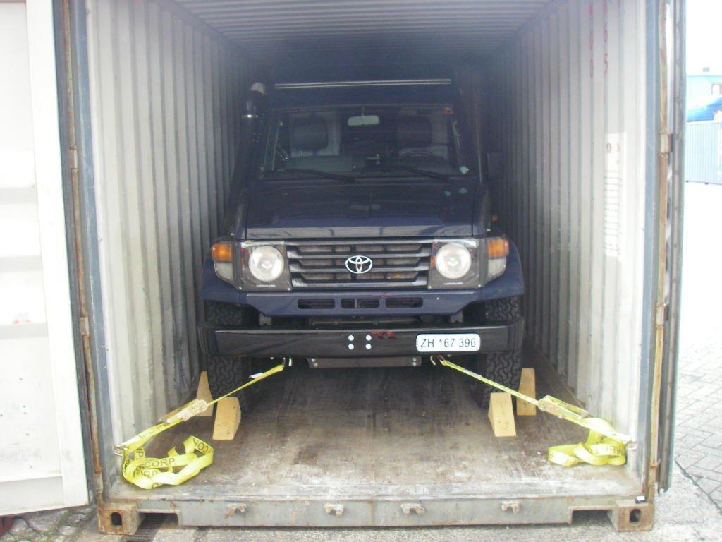 car shipping methods car export america